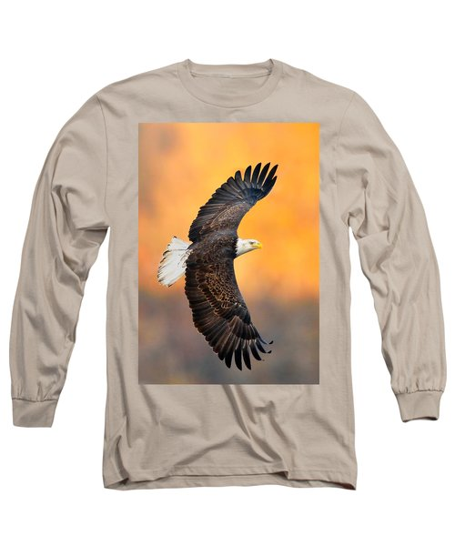 Autumn Eagle Long Sleeve T-Shirt