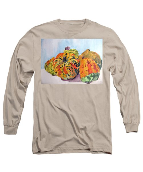 Autumn Gourds Long Sleeve T-Shirt