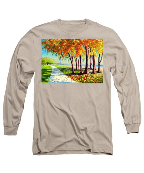 Autumn In Ontario Long Sleeve T-Shirt