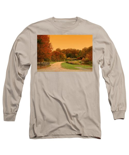 Autumn In The Park - Holmdel Park Long Sleeve T-Shirt