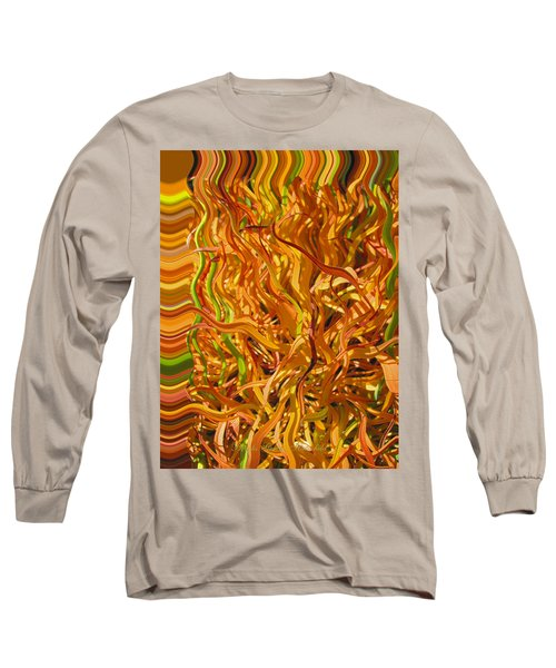 Autumn Leaves 5 - Abstract Photography - Manipulate Images Long Sleeve T-Shirt