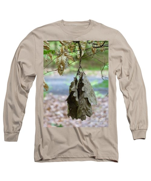 Autumn Leaves In Summer Long Sleeve T-Shirt