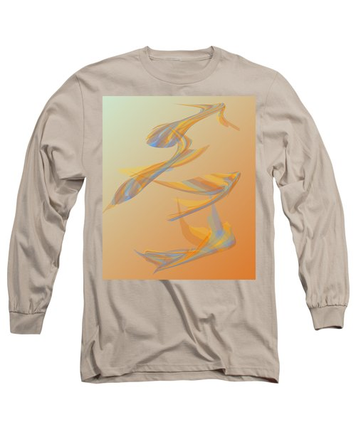 Long Sleeve T-Shirt featuring the digital art Autumn Migration by Stephanie Grant