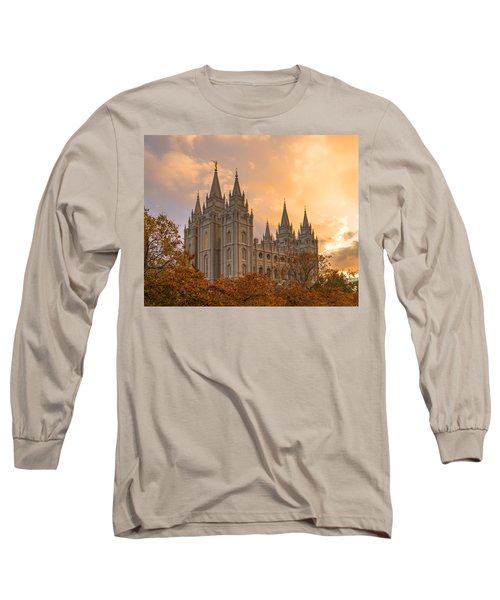 Autumn Splendor Long Sleeve T-Shirt by Dustin  LeFevre