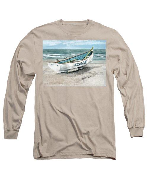 Avalon Lifeguard Boat  Long Sleeve T-Shirt