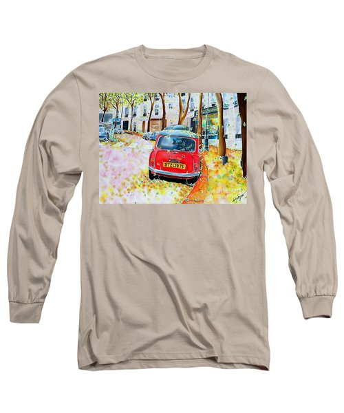 Avenue Junot In Autumn Long Sleeve T-Shirt