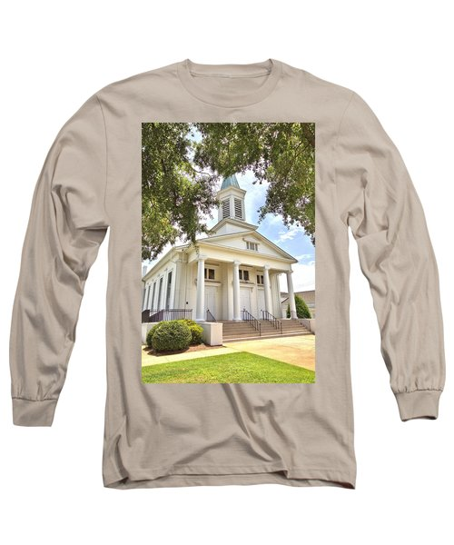 Long Sleeve T-Shirt featuring the photograph Awaiting The Congregation by Gordon Elwell