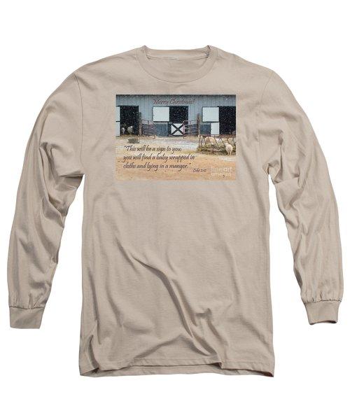 In A Manger Long Sleeve T-Shirt