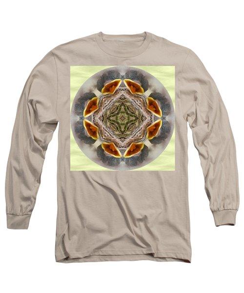 Baby Bird Kaleidoscope Long Sleeve T-Shirt