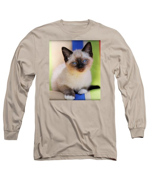 Long Sleeve T-Shirt featuring the photograph Baby Blues by Melanie Lankford Photography