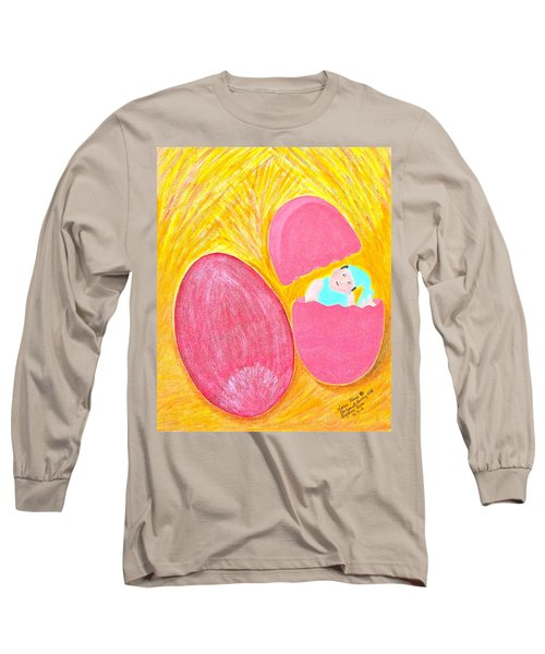 Baby Egg Long Sleeve T-Shirt by Lorna Maza