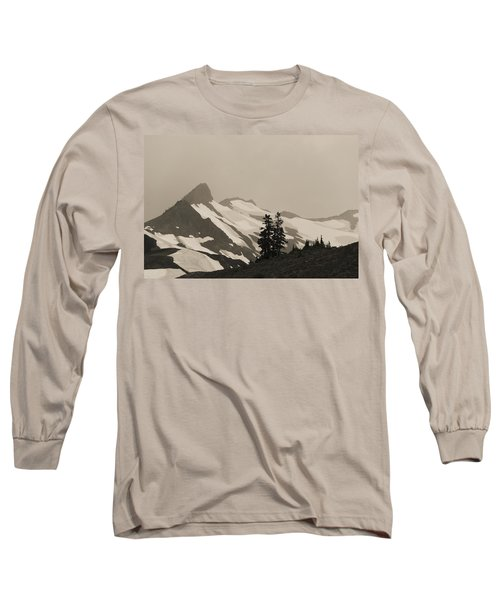 Fog In Mountains Long Sleeve T-Shirt