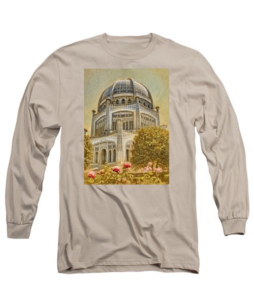Baha'i  Temple In Wilmette Long Sleeve T-Shirt