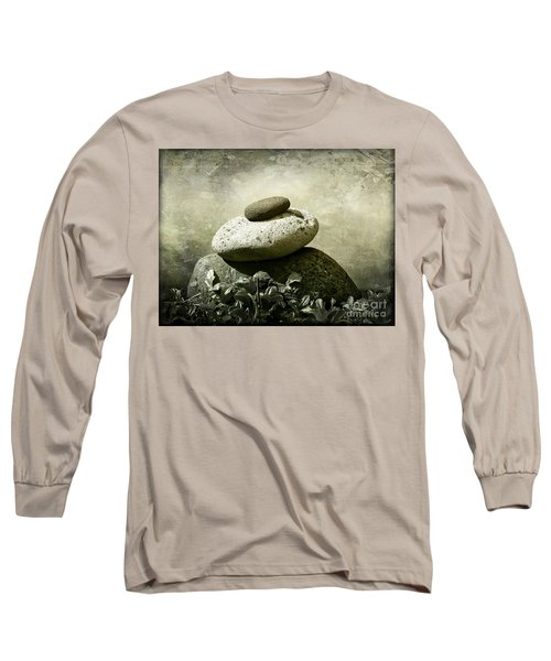 Balanced 2 Long Sleeve T-Shirt by Ellen Cotton