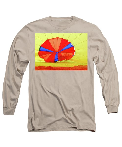 Long Sleeve T-Shirt featuring the photograph Balloon Fantasy   1 by Allen Beatty