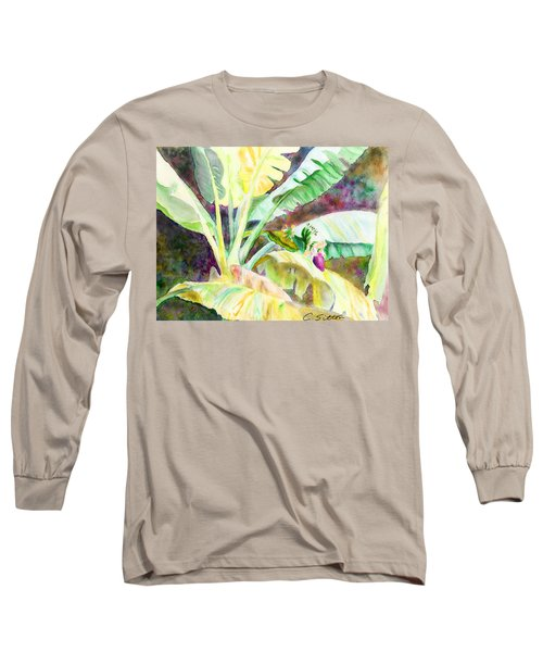 Banana Tree Long Sleeve T-Shirt by C Sitton
