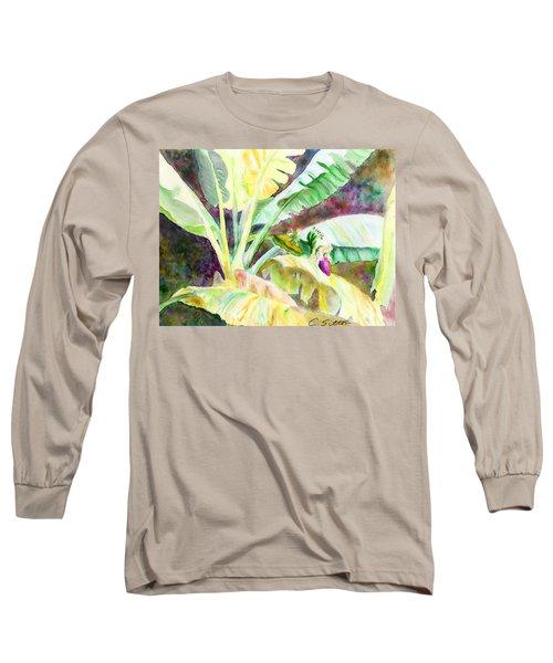 Banana Tree Long Sleeve T-Shirt