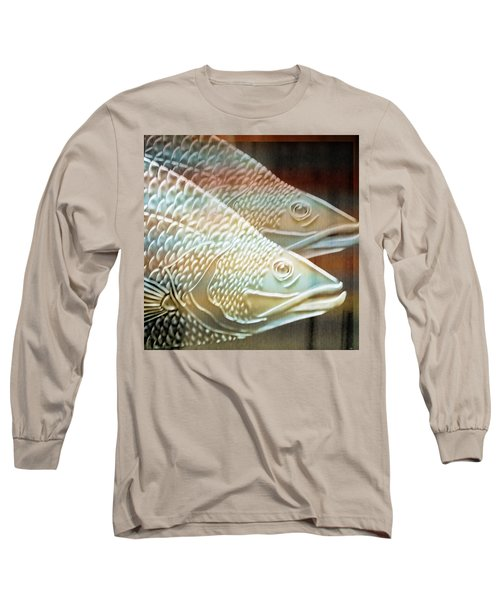 Long Sleeve T-Shirt featuring the photograph Barramundi by Holly Kempe
