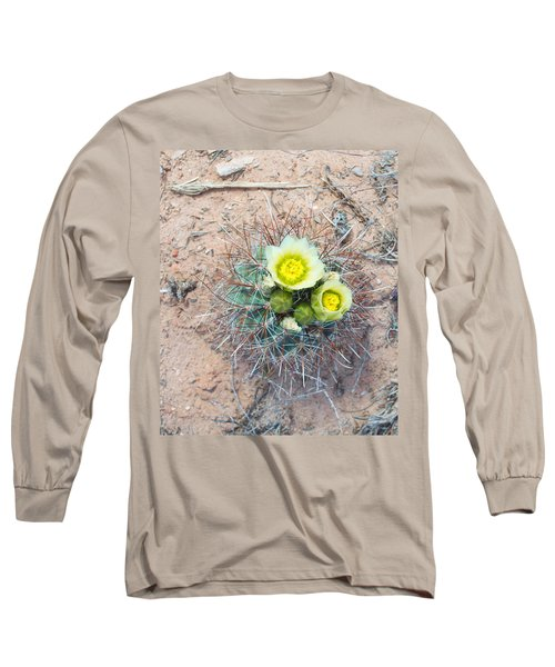 Barrel Cactus Blossoms Long Sleeve T-Shirt