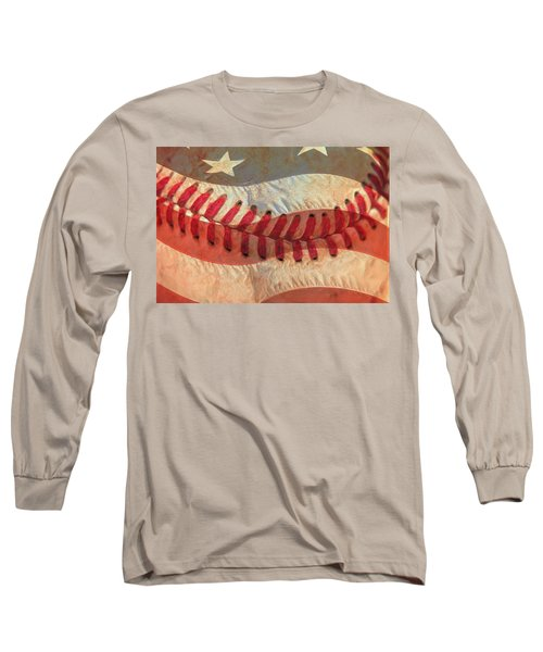 Baseball Is Sewn Into The Fabric Long Sleeve T-Shirt