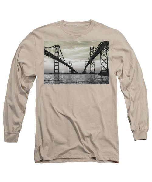 Bay Bridge Strong Long Sleeve T-Shirt