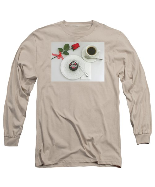 Long Sleeve T-Shirt featuring the photograph Be Mine by Sandi OReilly