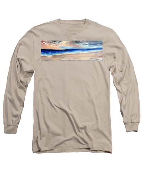 Long Sleeve T-Shirt featuring the painting Be Near by Meaghan Troup