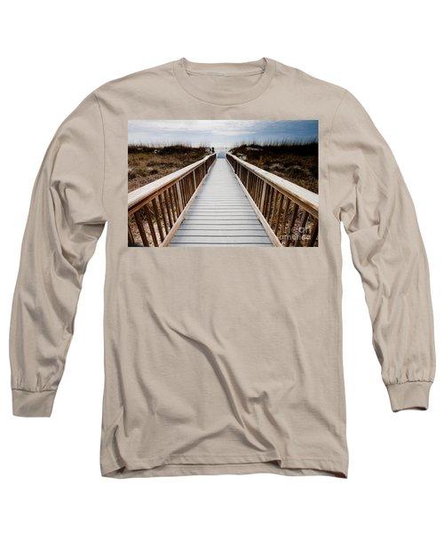 Beach Access Hilton Head Long Sleeve T-Shirt