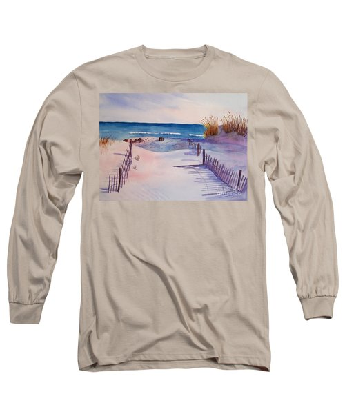 Beach Afternoon Long Sleeve T-Shirt