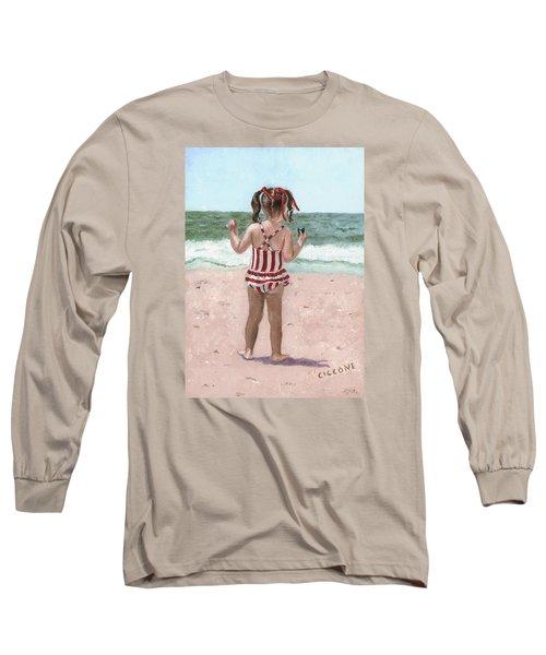 Beach Buns Long Sleeve T-Shirt
