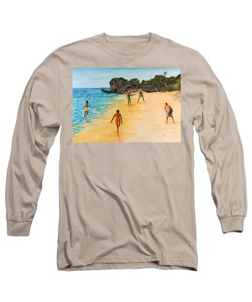 Beach Cricket Long Sleeve T-Shirt