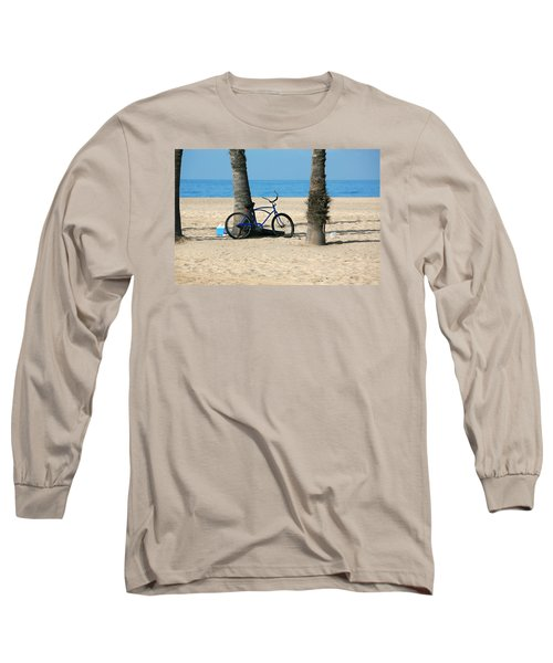 Beach Day Long Sleeve T-Shirt by Art Block Collections