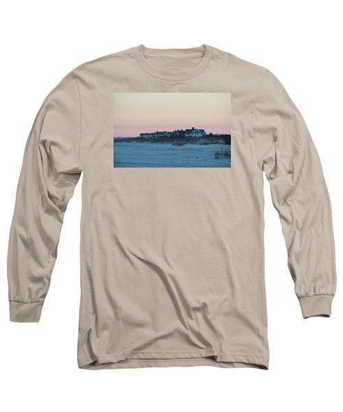 Beach Houses Long Sleeve T-Shirt by Cynthia Guinn