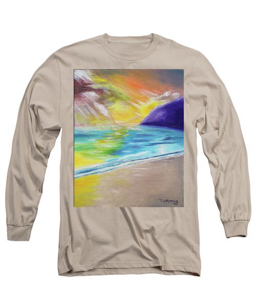Beach Reflection Long Sleeve T-Shirt