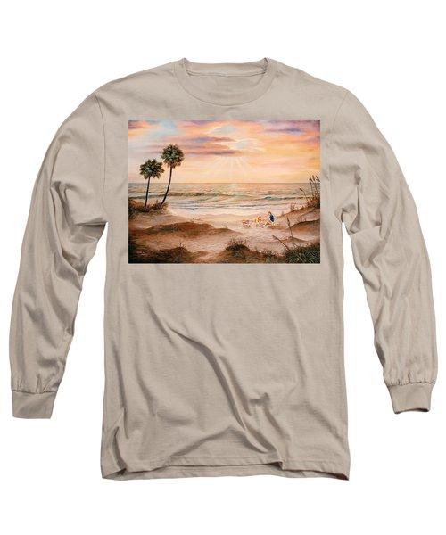 Beachcombers Long Sleeve T-Shirt by Duane R Probus