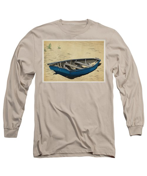 Beached Long Sleeve T-Shirt by Meg Shearer