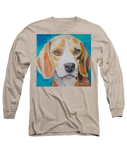 Beagle Long Sleeve T-Shirt by PainterArtist FIN