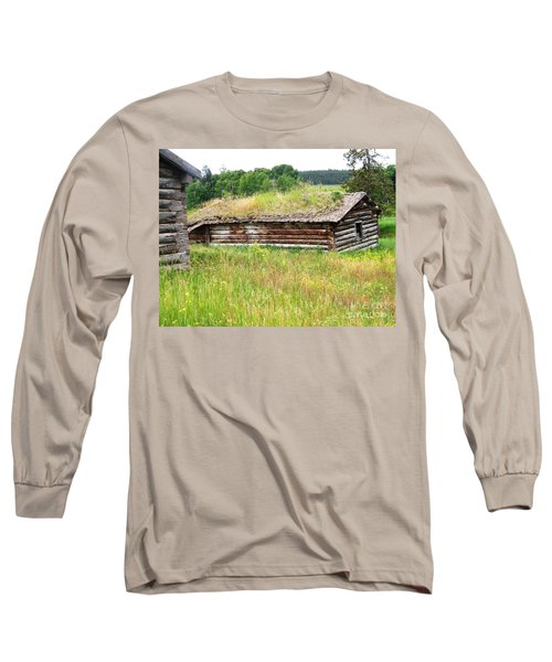 Long Sleeve T-Shirt featuring the photograph Bear Springs by Ann E Robson