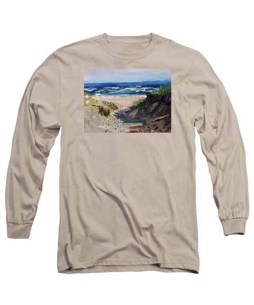 Bearberry Hill Truro Long Sleeve T-Shirt by Michael Helfen