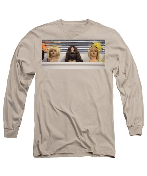 Bearded Lady Long Sleeve T-Shirt