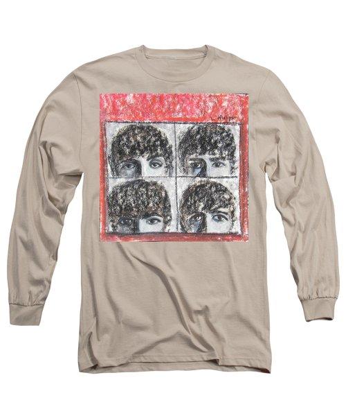 Beatles Hard Day's Night Long Sleeve T-Shirt