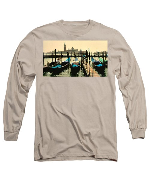 Long Sleeve T-Shirt featuring the photograph Beautiful Day In Venice by Brian Reaves