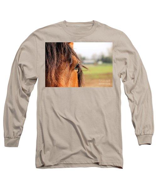 Beautiful Eye Long Sleeve T-Shirt
