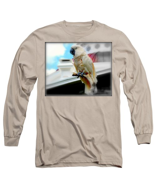 Beautiful Salmon-crested Cockatoo Long Sleeve T-Shirt