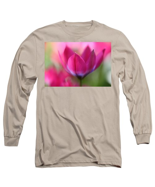 Beautiful Pink Long Sleeve T-Shirt