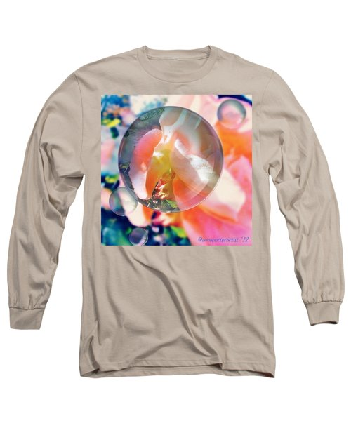 Beautiful Rose Marble - Autumn Light Long Sleeve T-Shirt