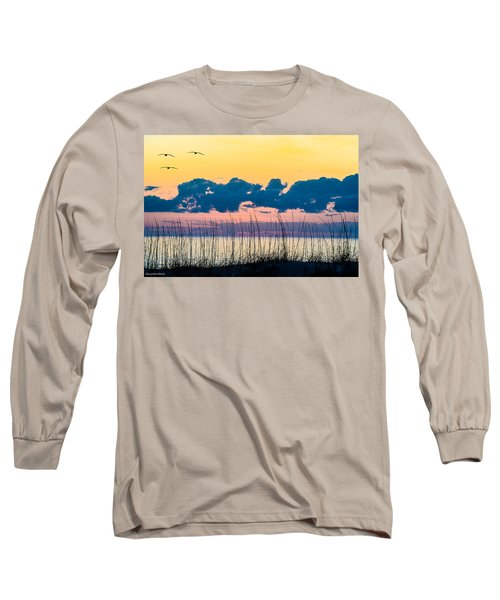 Beauty And The Birds Long Sleeve T-Shirt