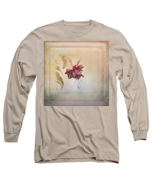 Beauty Fades Softly Framed Long Sleeve T-Shirt by Susan Capuano