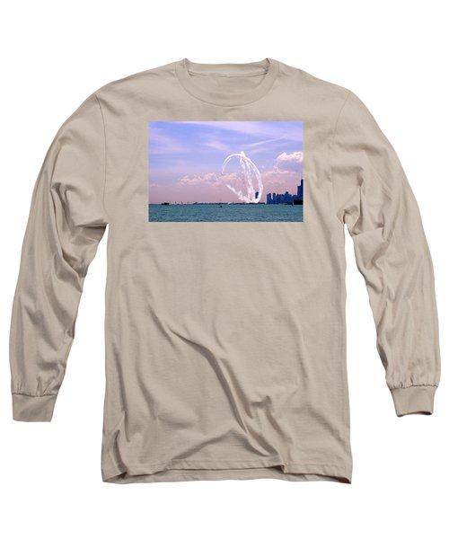 Beauty In The Air Long Sleeve T-Shirt by Milena Ilieva
