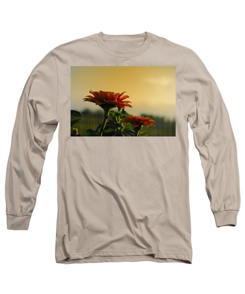 Beauty Of Nature Long Sleeve T-Shirt by Charles Beeler